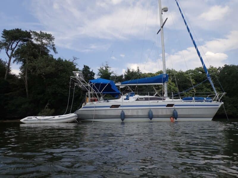 voilier ile bleue III